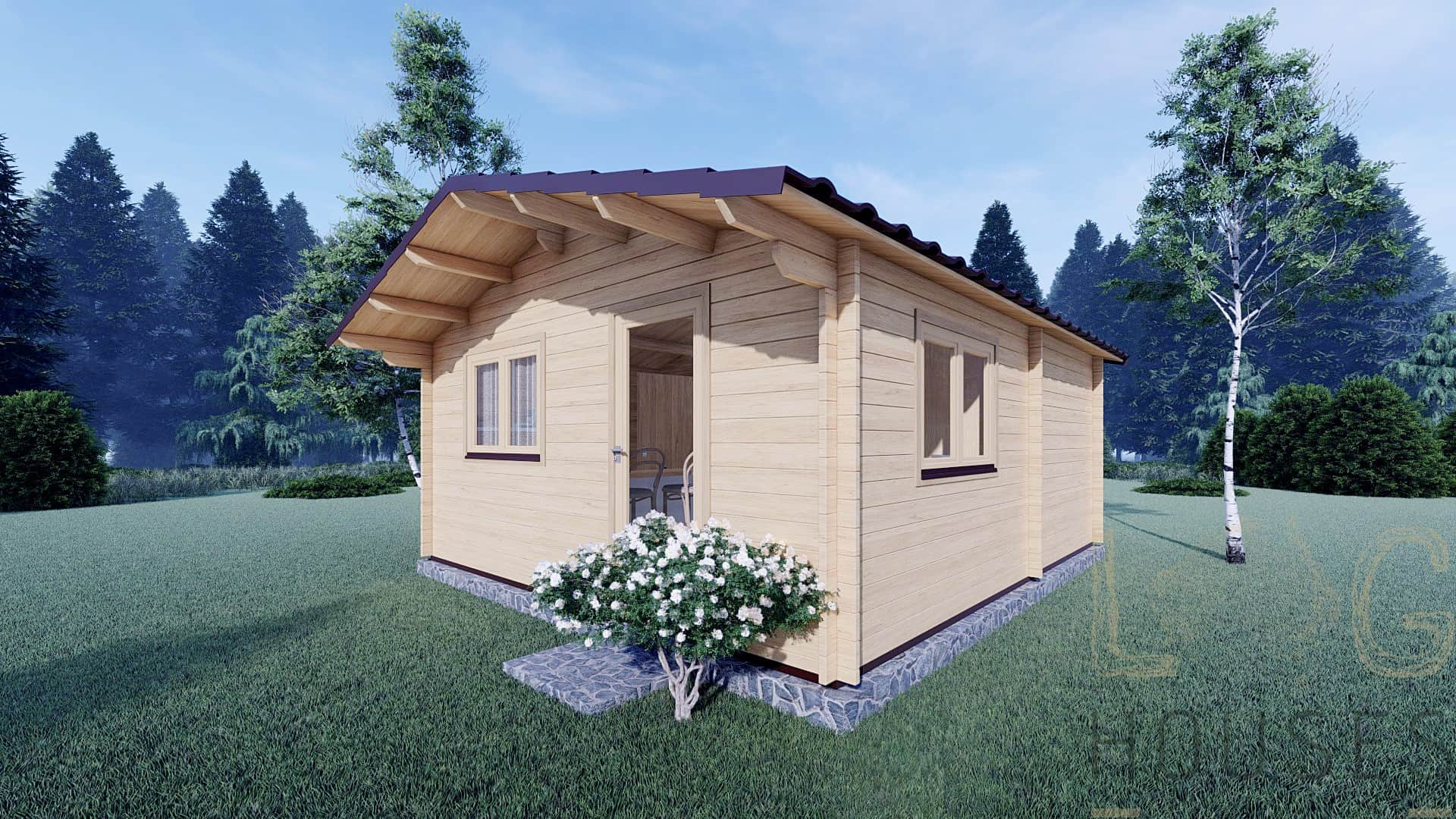 One-Bed-Dune-Walk-Log-Cabin-5x57m-12